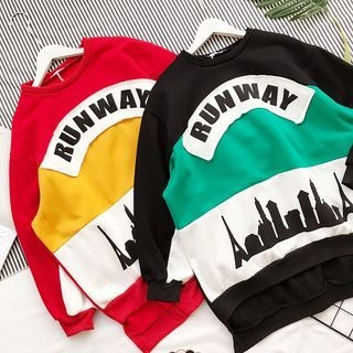 Color-Block Sweatshirt 1062309908