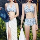 Set : Halter Bikini + Cover-up 1596