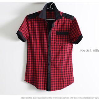 Picture of SERUSH Check Shirt 1022545243 (SERUSH, Mens Tees, Taiwan)