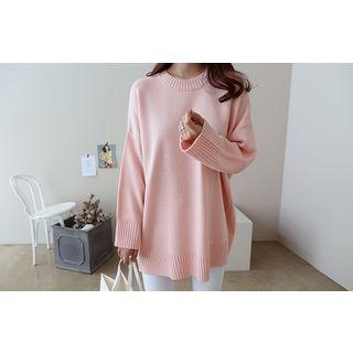 Drop-Shoulder Knit Top 1057566519