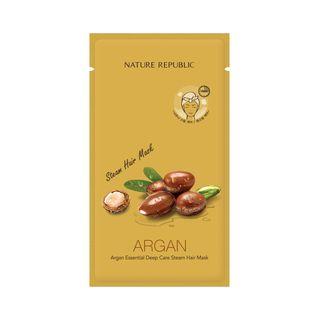 Nature Republic - Argan Essential Deep Care Steam Hair Mask 1pc 30g 1058591409