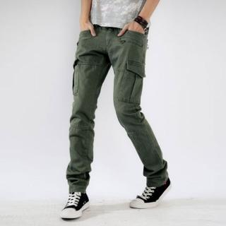 mens slim fit cargo pants - Pi Pants
