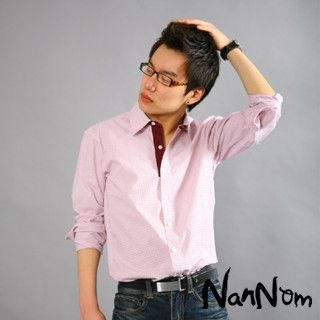 Picture of NanNom Check Dress Shirt 1022480634 (NanNom, Mens Shirts, Korea)