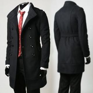Picture of Manual Double-Breasted Long Coat 1021636179 (Manual, Mens Outerwear, Korea)
