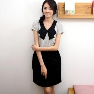 Buy IZABEL Mock Two-Piece Dress 1023008510