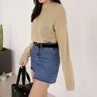 Round-Neck Long-Sleeve Sweater 1596
