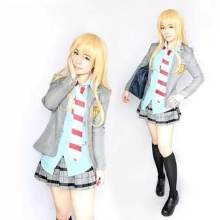 Uniform Cosplay Costume - Your Lie In April Miyazono Kaori 1041167220