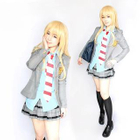 Uniform Cosplay Costume - Your Lie In April Miyazono Kaori 1596