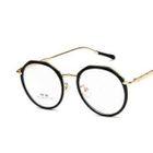 Chunky Frame Round Glasses 1596
