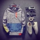 Colour Block Hooded Jacket 1596
