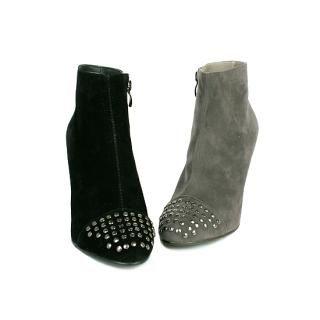 Buy NamuDDalgi Faux Suede Studded Ankle Boots 1021643702