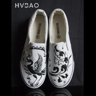 Picture of HVBAO Phoenix Slip-Ons 1016480554 (Slip-On Shoes, HVBAO Shoes, Taiwan Shoes, Womens Shoes, Womens Slip-On Shoes)