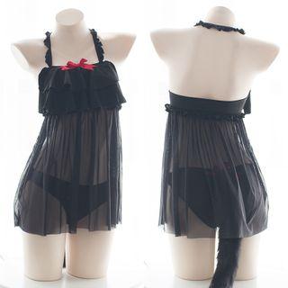 Costume | Black | Size | Cat | One | Set