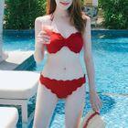 Bow-Accent Bikini 1596