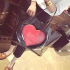 Heart Applique Jelly Tote 1596