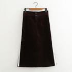 Corduroy A-line Skirt 1596