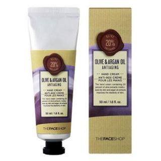 Olive & Argan Oil Antiaging Hand Cream