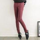 Seam-Front Skinny Pants 1596