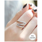 Zigzag Silver Ring от YesStyle.com INT