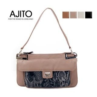 Buy AJITO Faux-Leather Handbag 1021534213