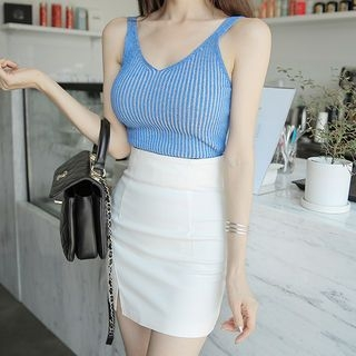 Ribbed Camisole Top 1060355567
