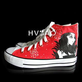 Buy HVBAO Looking Back High-Top Sneakers 1012144085