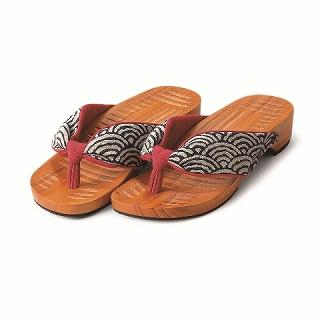 Picture of Mizutori Geta-monogatari Craft Sandals 1004546612 (Sandals, Mizutori Shoes, Japan Shoes, Womens Shoes, Womens Sandals)