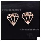 Diamond Shape Earrings 1596
