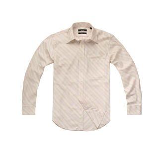 Buy Justyle Long-Sleeve Striped Dress Shirt 1021492718