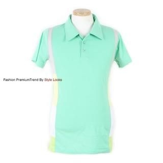 Buy Yellow Jacket Color-Block Polo Shirt 1022847786