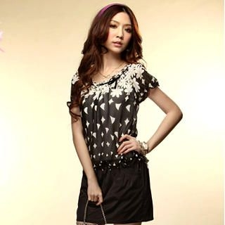 Buy Tokyo Fashion Printed Mock Two Dress 1022716660