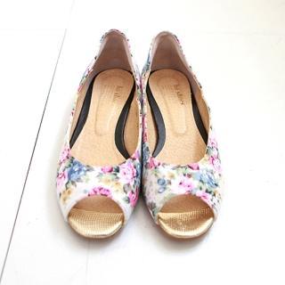 Imprimé Floral Chaussures Plates OKbGPScV
