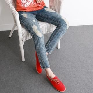 Buy HARU Distressed Skinny Jeans 1022776925