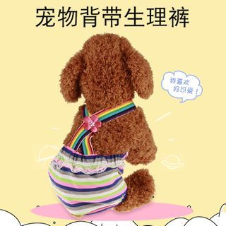 Image of Female Pet Diaper Sanitary Overall