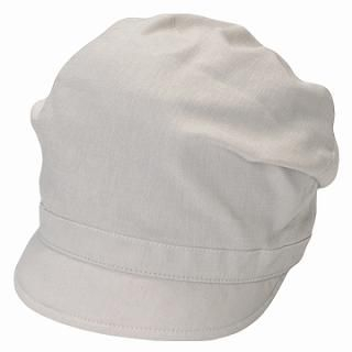 Picture of GRACE Gathered Casquette Ivory - One Size 1022099501 (GRACE, Mens Hats & Scarves, Japan)