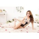 Lace Crotchless Teddy 1596