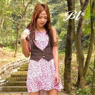 Buy Barbie Baigel Cherry Print Chiffon Dress 1020432868