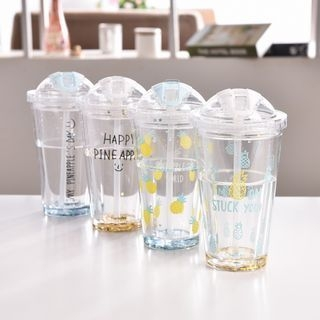 Letter Double Layer Cup 1058333397