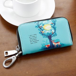 Image of Printed Key Pouch