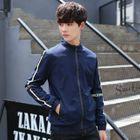 Stand-Collar Zip Jacket 1596