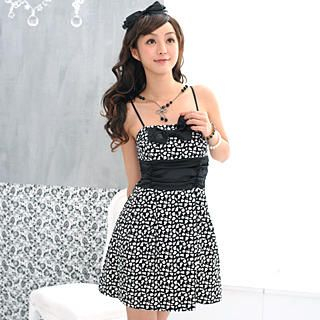 Buy 59 Seconds Strapless Printed Party Dress 1022994183