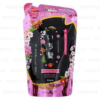 kracie-ichikami-smoothing-hair-conditioner-refill-340g