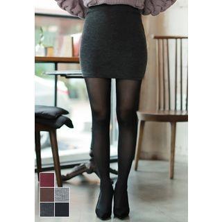 Ribbed Mini Skirt 1053948762