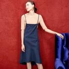 Set: Knit Top + Sleeveless Dress 1596