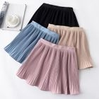Accordion Pleat A-Line Skirt 1596