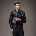 Faux Leather Zip Jacket 1596