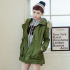 Furry Hooded Parka от YesStyle.com INT