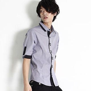Buy SERUSH Contrast Shirt 1022914766