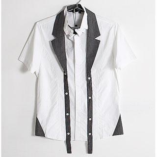 Buy SERUSH Detachable Collar Dress Shirt 1022885577