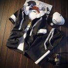Set: Hooded Short-Sleeve Jacket + Sweatpants 1596
